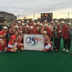 @bu_fieldhockey is back-to-back @patriotleague champs with 2-1 win over American!!! #ProudToBU #BleedScarlet #BUFHA by buathletics