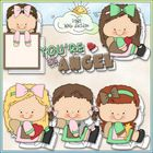 Clip Art and Digital Stamps Download with 6 Color Images and 6 Black and White Images.  All images are high quality 300 dpi for beautiful printing ...