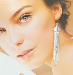 Fashion Long Tassels Earrings