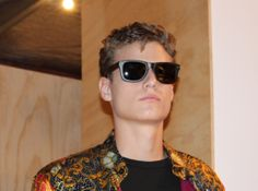 Looking good in Proof Eyewear at the MUST Sustainable Fashion Show.
