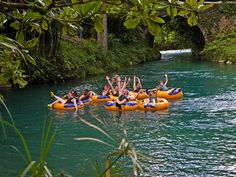 White River Tubing is a refreshing adventure in Ocho Rios, Jamaica. The White River is known for its beauty and fresh water rivers. Jamaica Tours, Jamaica Cruise, Jamaica Hotels, Jamaica Vacation, Jamaica Travel, Beach Resorts, April Vacation, Ocho Rios, Beautiful Places To Visit