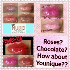 Love these lip glosses.  So cute they come with a mirror attached!!!  #valentine #valentinesday #love #makeup #liplash #lips #lipgloss #younique