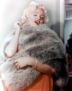 Marilyn Monroe in a FOX Fur boa
