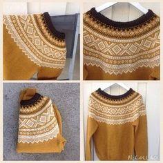 Marius genser str M - Epla Vintage Knitting, Baby Knitting, Crochet Woman, Knit Crochet, Icelandic Sweaters, Nordic Sweater, Fair Isle Knitting, How To Purl Knit, Knitting Patterns