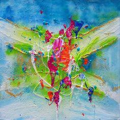 """Silke Brandenstein, """"Ikigai""""  Mit einem Klick auf """"Als Kunstkarte versenden"""" versenden Sie kostenlos dieses Werk Ihren Freunden und Bekannten."""