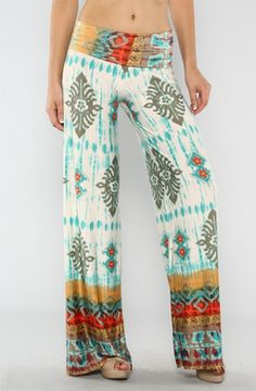 Bohemian Fashion! I would so wear these!