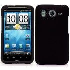 Black Durable Protective Rubberized Crystal Hard Case Cover for AT