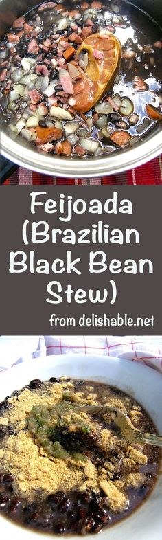 Feijoada (Brazilian Black Bean Stew) recipe - Rich in flavor and very ...