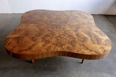 RARE GILBERT ROHDE CLOUD COFFEE TABLE Mahogany Burl BAUHAUS Herman Miller MODERN #GILBERTROHDEforHermanMiller