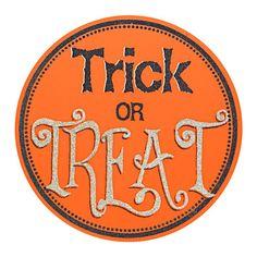 "Trick or Treat Sign, 15"" $9.99 #Gordmans #Halloween #HalloweenDecor #TrickorTreat"