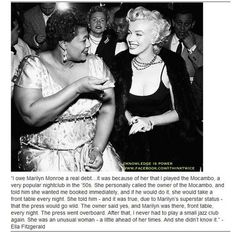The Ella and Marylin story