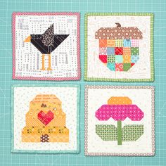 YaY!!!     I'm sew excited    to announce    four new patterns!!!     They are from my    Farm Girl Vintage     and    Scrappy Project ...