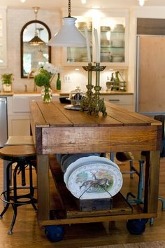 Cultivate Kitchens When we think of mirrors, bathrooms are usually the first room that leaps to mind. French = grayBathrooms are, after all, where we are most likely to need to see ourselves. But, of all the rooms in our house, the kitchen is one of the ones that we prefer to be the lightest, …