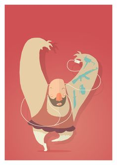 dance. by Simon Schacht, via Behance