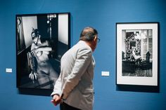 The opening of the Helmut Newton Exhibition at Foam Fotografiemuseum Amsterdam was a great event, a visitor mesmerized by Wolford Newton. Helmut Newton, Wolford, Amsterdam, Art Pieces, Image, Artworks
