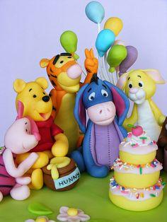 Winnie The Pooh cake i want for my next birthday!