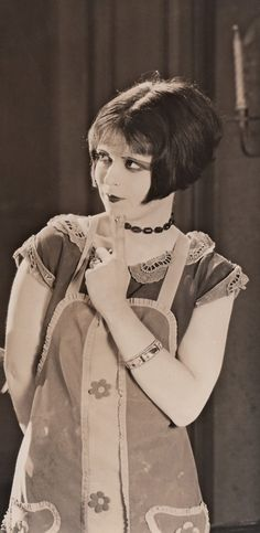 Clara Bow (the it girl) was a box office draw in the 1920's and is described as its leading sex symbol. She appeared in 46 silent films and 11 talkies. Clara Bow stared in the very 1st Academy Award winning motion picture Wings. (1927)