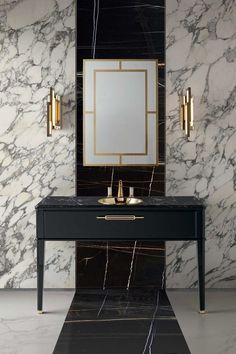3 Tips And 23 Examples To Create An Art Deco Bathroom #BathroomToilets