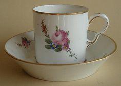 Porcelaine De Clignancourt Tasse Litron Paris 1780 Sevres