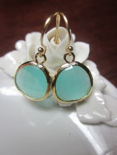 Hey, I found this really awesome Etsy listing at http://www.etsy.com/listing/75236931/pacific-aqua-mint-earrings-blue