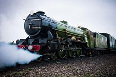 Steam on the Rails