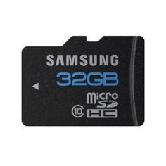 """Samsung 32GB microSDHC Class 10 Essential memory card adapter with special rates """"Best Android Phone"""
