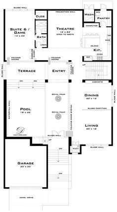 Barbados house floor plans