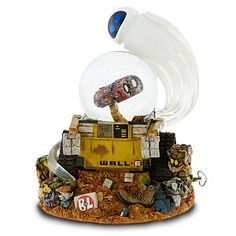 Disney WALL-E Snowglobe....I NEED IT!!!!!!!