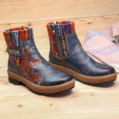 SOCOFY Short Boots