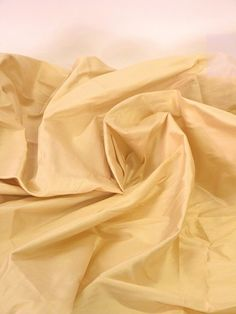 Dresses curtains and crafts Silk fabric ecru by Eleptolis on Etsy