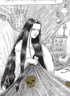 #ClippedOnIssuu from The Sleeper and the Spindle by Neil Gaiman & illustrated by Chris Riddell - Extract