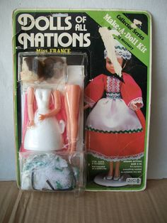 DIY Dolls of all Nations Kit  France by mooglamom on Etsy