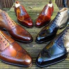 Ascot Shoes — Some highly polished custom pieces for everyone to...