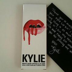 Lip Kit by Kylie 22 Lipkitbykylie Kylie's lipkit New color 22. Its definitely a gorgeous color.  Kylie cosmetics MAC Cosmetics Makeup Lipstick
