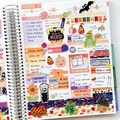 End of week spread! Using lots of purple and orange this week! (tap once for shops) by vynguyen.plans