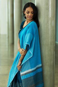 Rain Cloud Saree from FashionMarket.lk