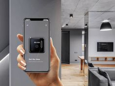 Interactive guide through AR (part designed by Andrej Roman for PLATFORM. Connect with them on Dribbble; Ios App Design, Mobile Ui Design, Ux Design, Futuristic Technology, Cool Technology, Scan App, Ar Parts, Smart Home Design, Phone Service