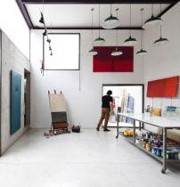 Atelier von AR Arquitectos in Sao Paulo / Malen in Sichtbeton - Architektur und Architekten - News / Meldungen / Nachrichten - BauNetz.de