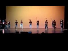 Barry Goldwater spring dance show 2017, intermediate tap glitter and gold