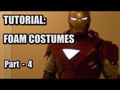 "TUTORIAL - Painting Foam Costumes - Part 4 of ""Using PEPAKURA for FOAM Costume Building"""