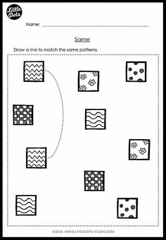 Download same and different worksheets for pre-k. Practice to visually discriminate and find items that are same or different in a group. Freebie included!