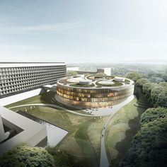 Finalist, competition for new extension for the WHO HQ in Geneva