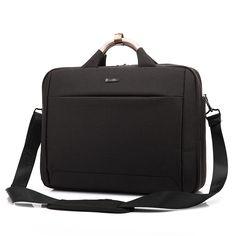 KALIDI Mens Travel Shoulder Laptop Bag Notebook Sleeve Cover Case Computer Bag Business High Quality Handbags for 15.6 Inch
