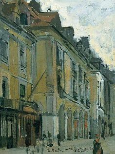 Walter Sickert - Les Arcades de la Poissonnerie, Dieppe (1900)