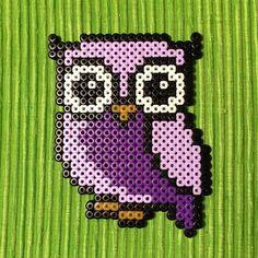 Owl perler beads by petrawettero