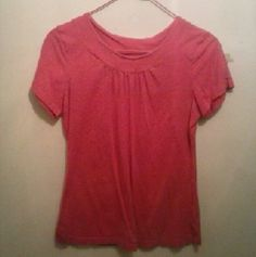 Top Pink top, cute with jeans or shorts, very versatile riders by lee Tops