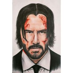 Keanu Reeves/John Wick #art #artist #artwork #artistsoninstagram #arts #portrait #portraitphotography #portre #drawing #draw #drawings #drawthisinyourstyle #drawing🎨 #draws #keanureeves #keanu #matrix #thematrix #johnwick #johnwick3 John Wick Hd, Keanu Reeves John Wick, Christian Slater, Baby One More Time, Photo Wallpaper, Britney Spears, Hd Photos, Ariana Grande, Giclee Print