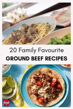 Put dinner on the table in 30 minutes or less with these ground beef dinner ideas. Dinner With Ground Beef, Food Network Canada, Easy Dinner Recipes, Dinner Ideas, Ground Beef Recipes, Slow Cooker Recipes, Food Network Recipes, Entrees, Tasty