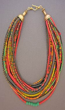 Style, soul, and history . . . all in a single piece of adornment. Anna Holland designs unique ethnic jewelry and tribal jewelry using contemporary, antique, and ancient beads and artifacts. Her handcrafted necklaces, bracelets, and rings are all one-of-a-kind treasures, collected and worn by women and men around the world.