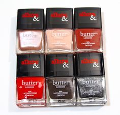 Allure and Butter London Arm Candy Nail Polish Collection   Swatches, Review and Giveaway #bLxAllure
